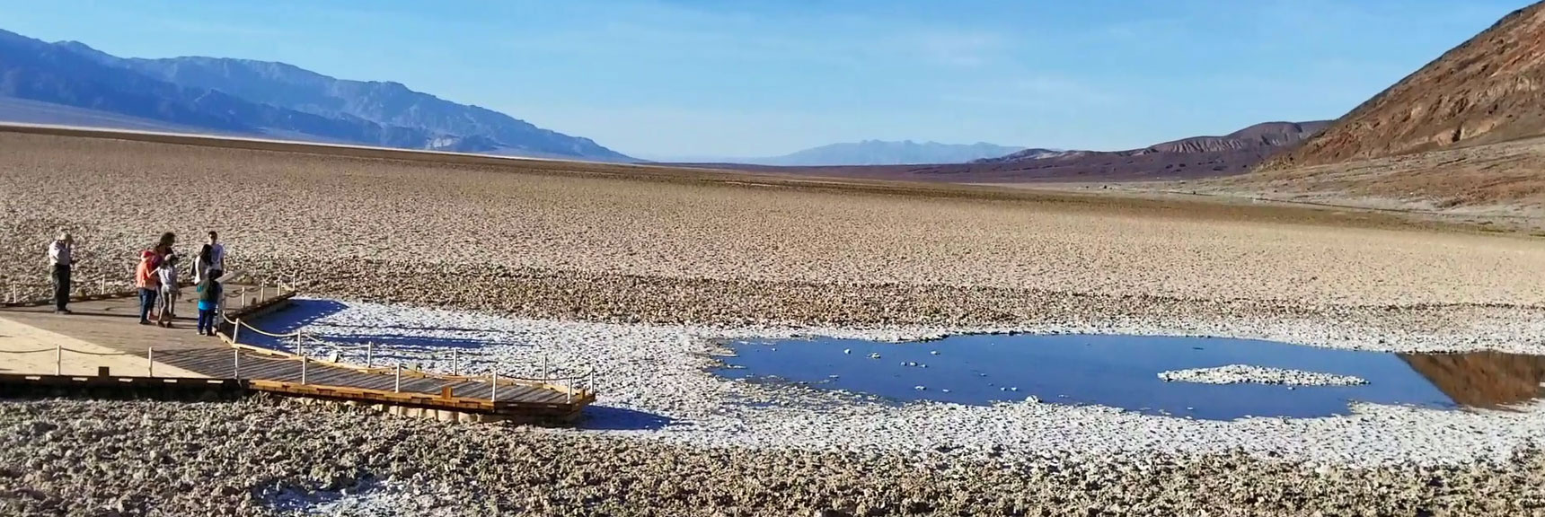 Death Valley National Park Bad Water Basin November 24th 2018