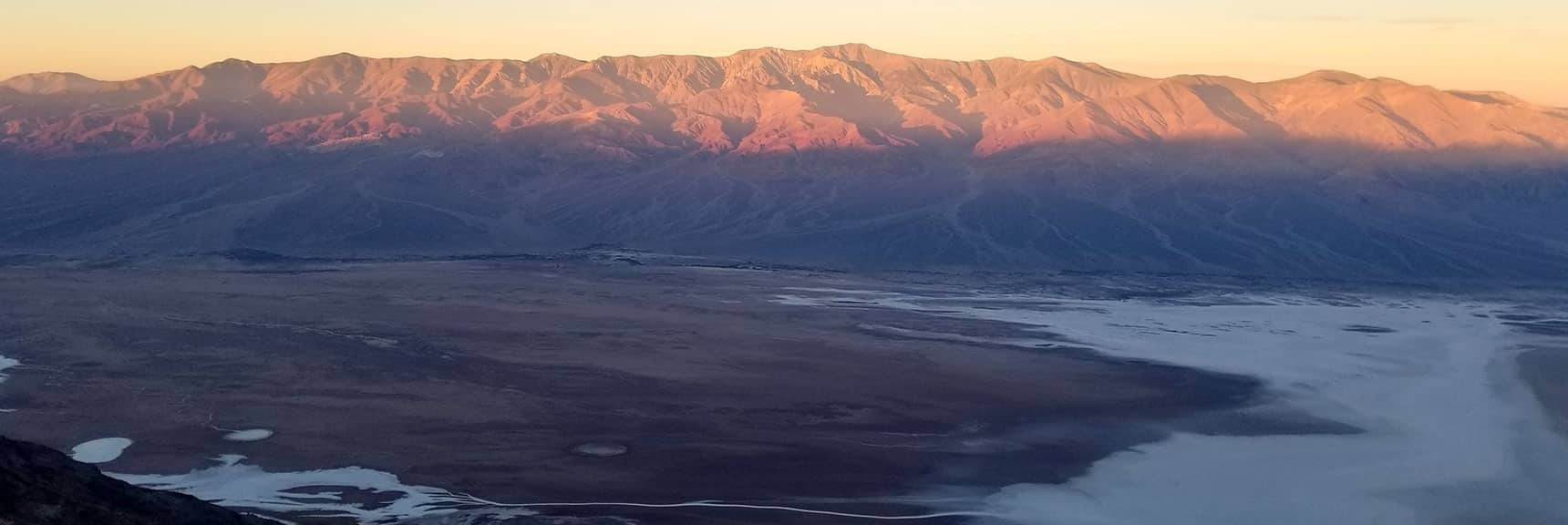 Death Valley National Park Dantes View November 24th 2018