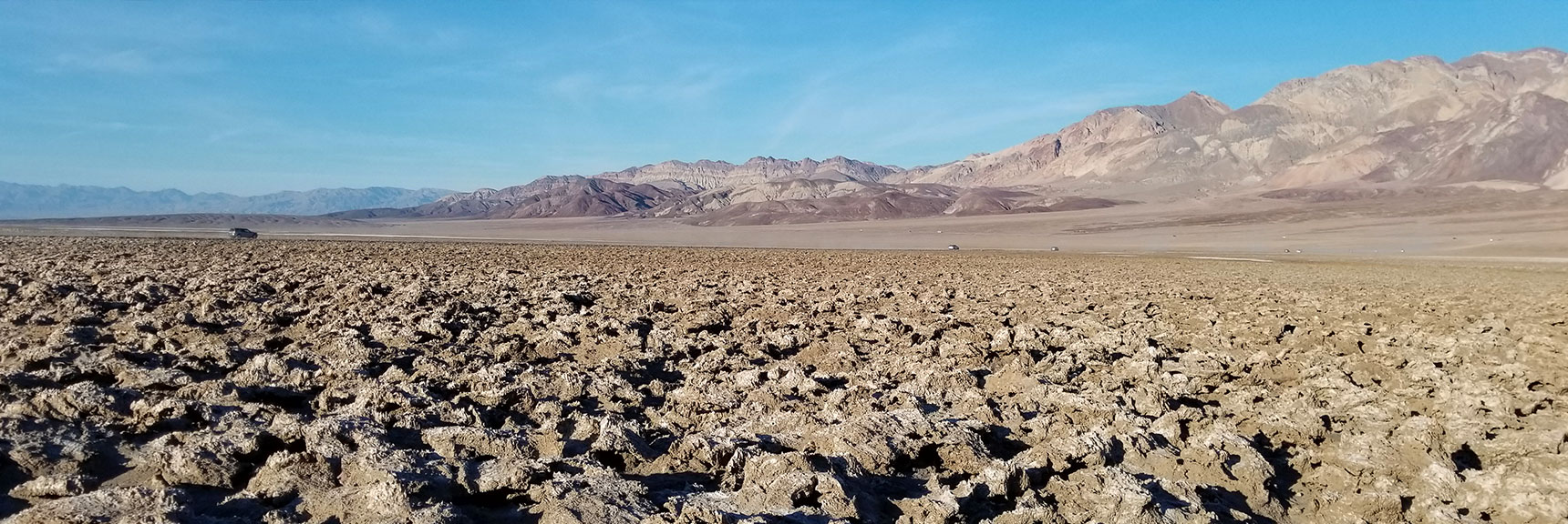 Death Valley National Park Devil's Golf Course November 24th 2018
