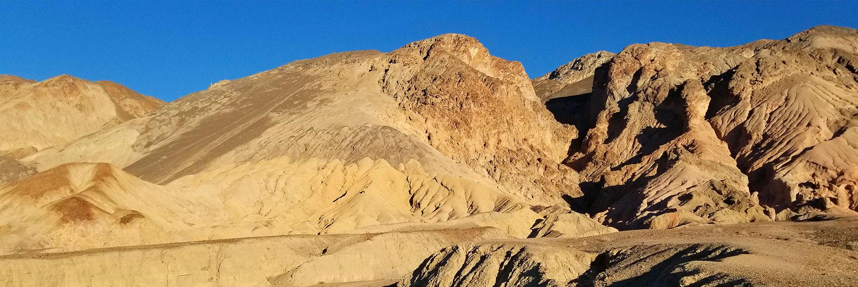 Death Valley National Park Golden Canyon November 24th 2018