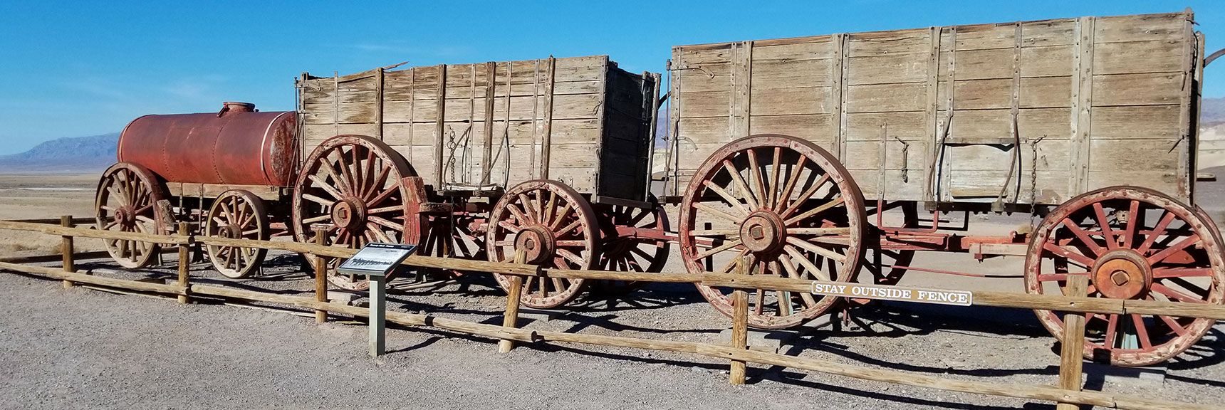 Death Valley National Park Harmony Borax Works November 24th 2018