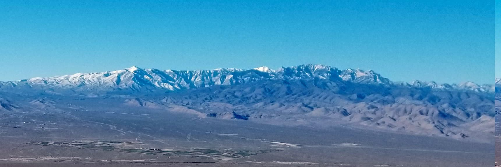 Mt Charleston Wilderness from SW Approach to Gass Peak About 4000ft