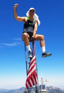 David Smith on Mt Charleston summit outside of Las Vegas, Nevada
