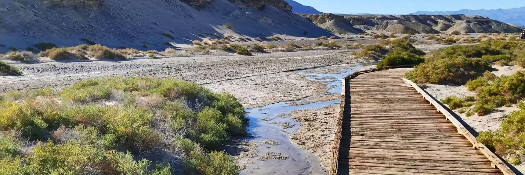 Death Valley National Park Salt Creek November 24th 2018