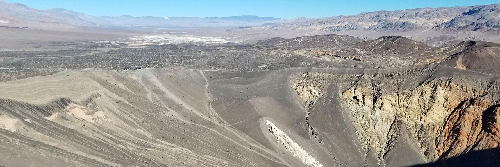 Death Valley National Park Ubehebe Crater November 24th 2018