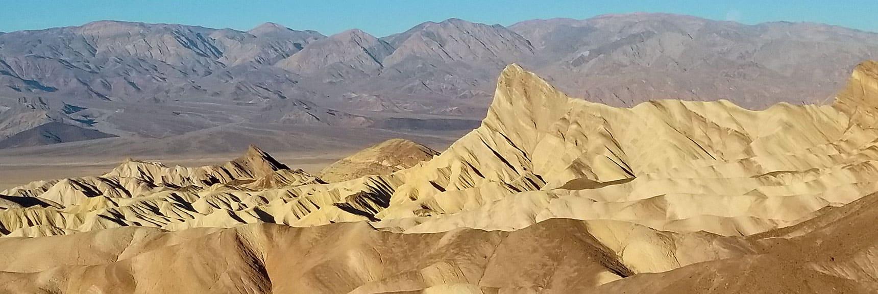 Death Valley National Park Zibriskie Point November 24th 2018