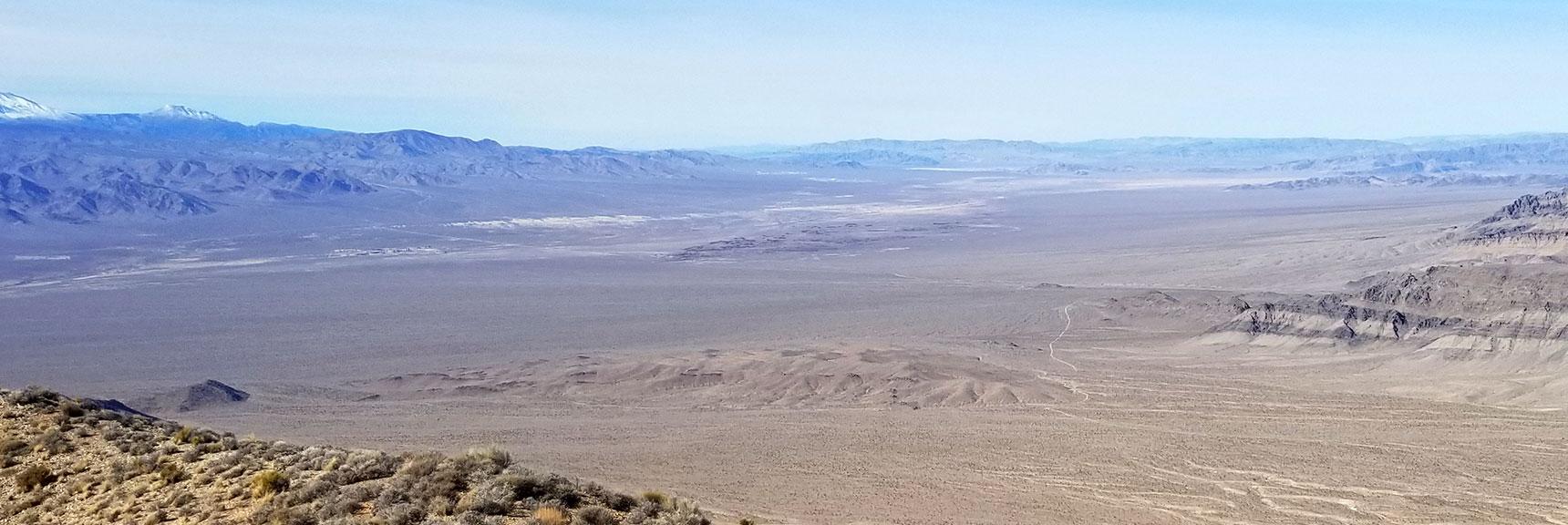 View Toward Death Valley from Gass Peak Summit, Nevada
