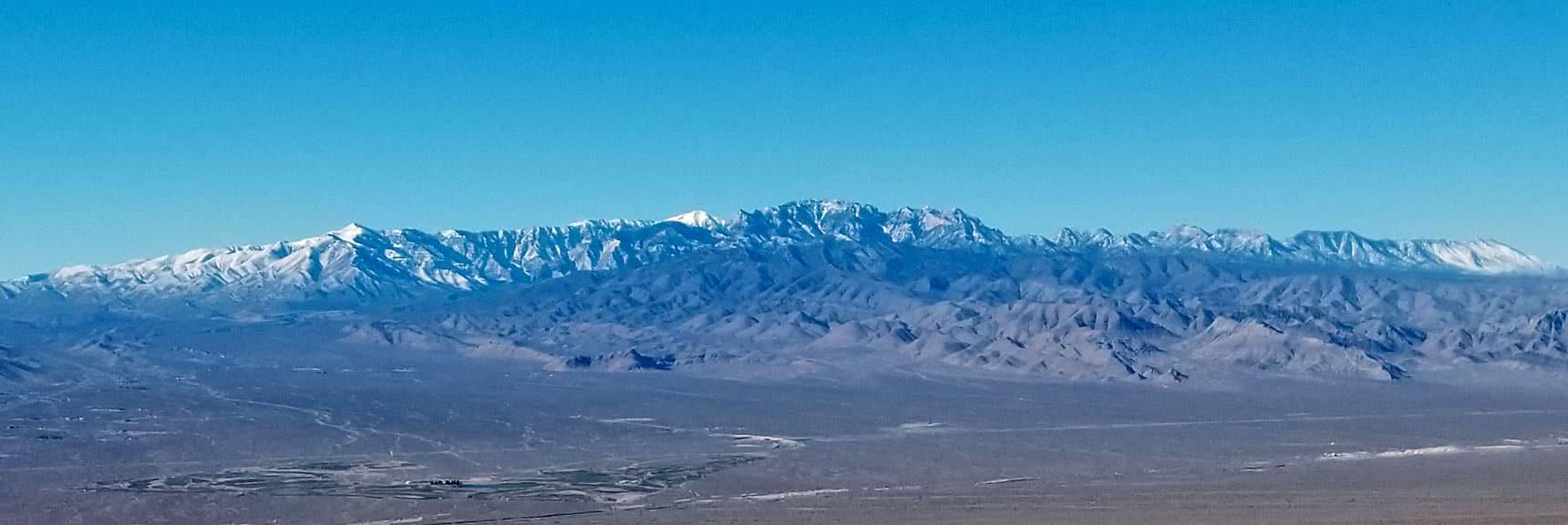 Mt. Charleston Wilderness Viewed from Gass Peak Summit, Nevada
