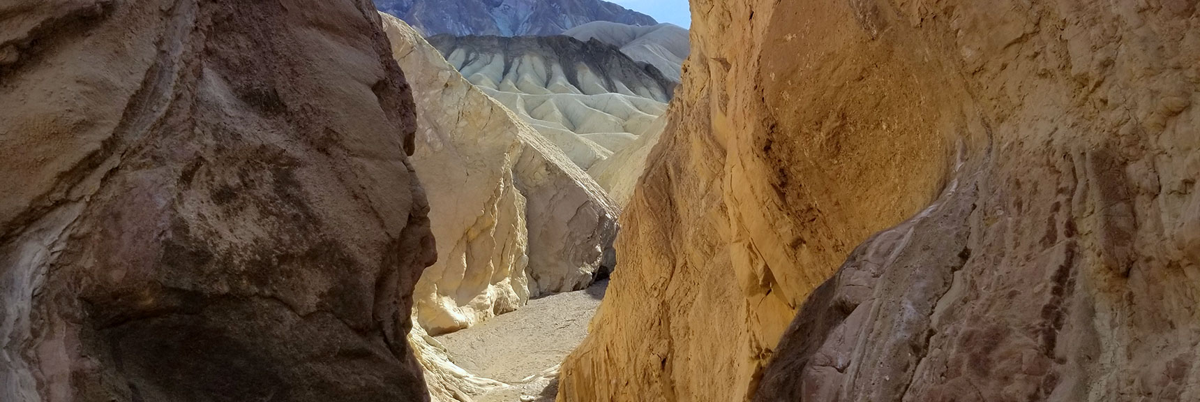 Golden Canyon Death Valley National Park, CA