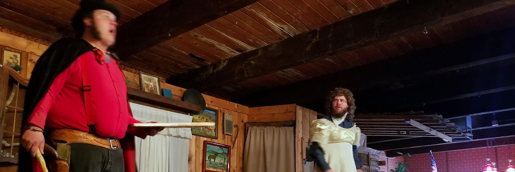Melodrama at Bonnie Springs Ranch, Nevada