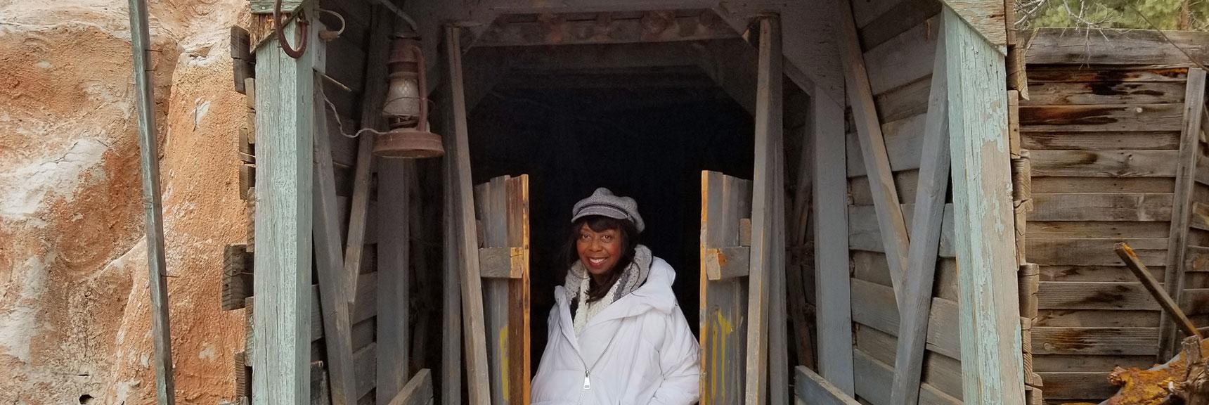 Mine Entrance at Bonnie Springs Ranch, Nevada