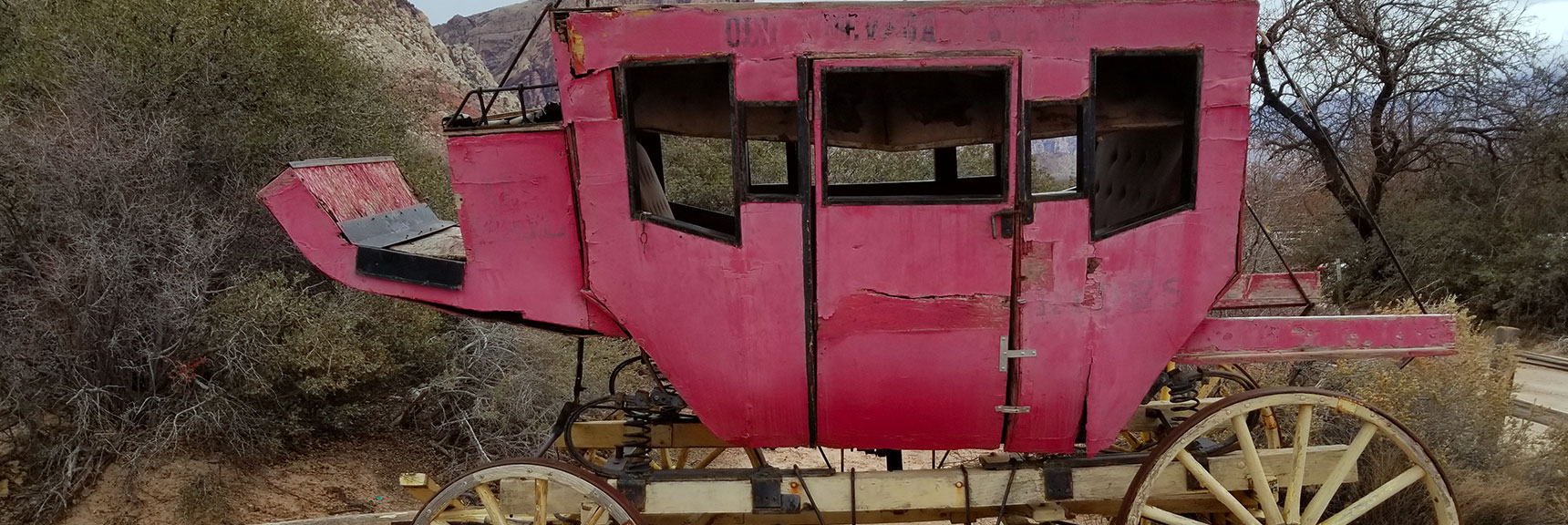 Old Nevada Stage Coach at Bonnie Springs Ranch, Nevada
