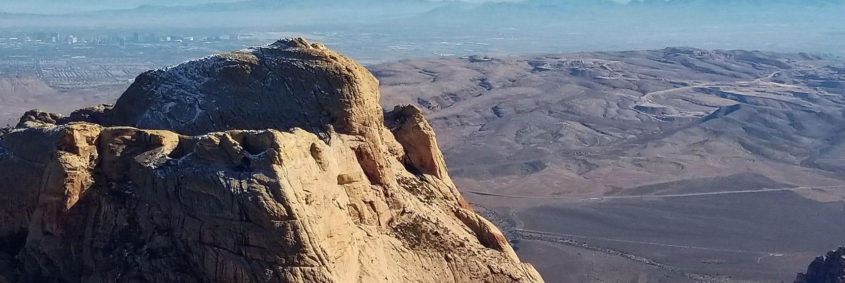 Bridge Mountain Seen from Goat Rock, Red Rock National Park, Nevada