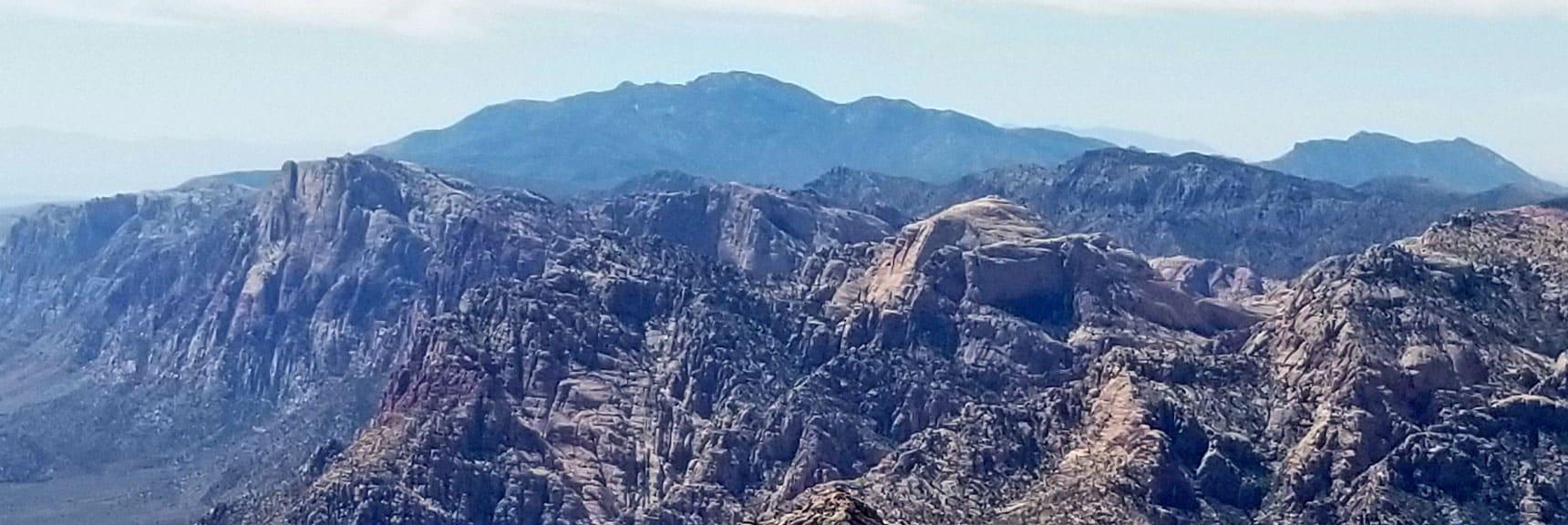 BKeystone Thrust Summit, Red Rock National Park, Nevada