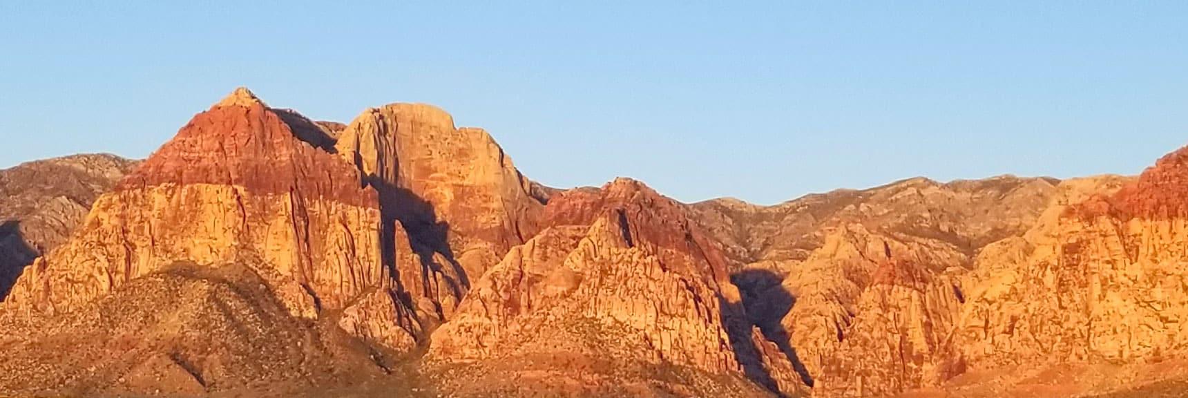 Juniper Peak, Red Rock National Park, Nevada