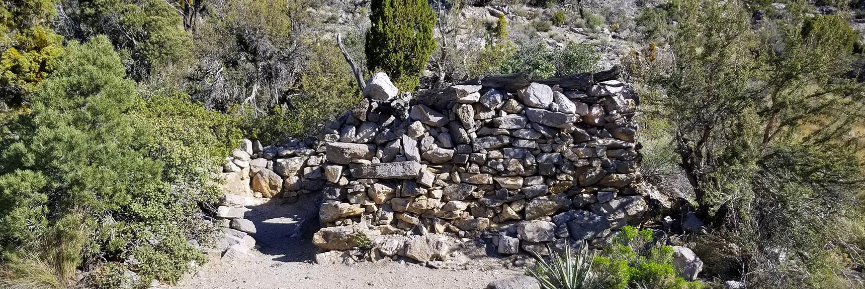 Miner's Cabin at La Madre Mt Springs, Red Rock Nat Pk, Nv