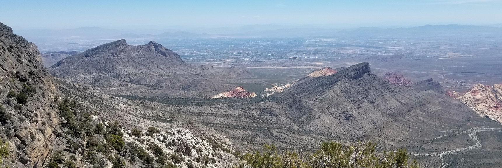Turtlehead Peak View from Keystone Thrust, La Madre Mountain Wilderness, Nevada