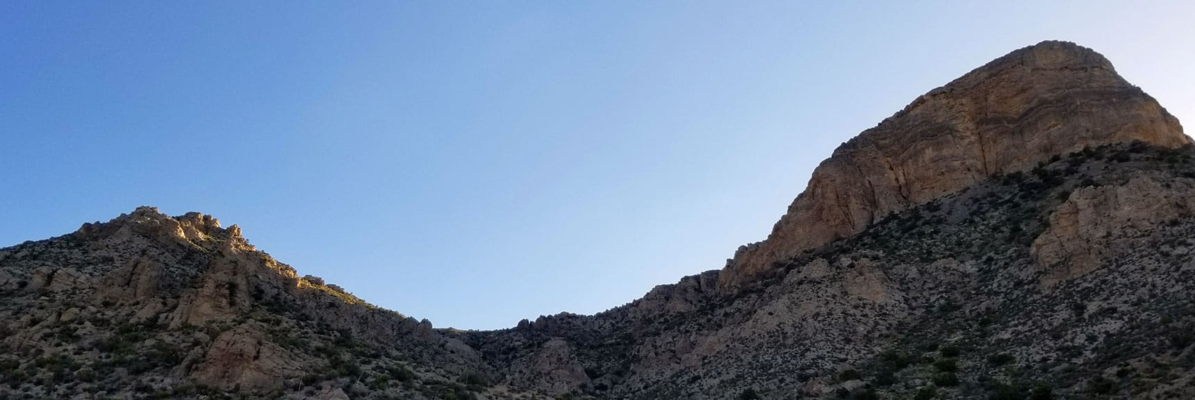 Turtlehead Peak and Saddle in Red Rock National Park, Nevada