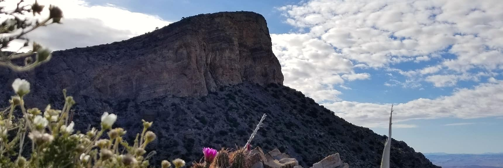 Turtlehead Peak View from Upper Saddle in Red Rock Park, Nevada