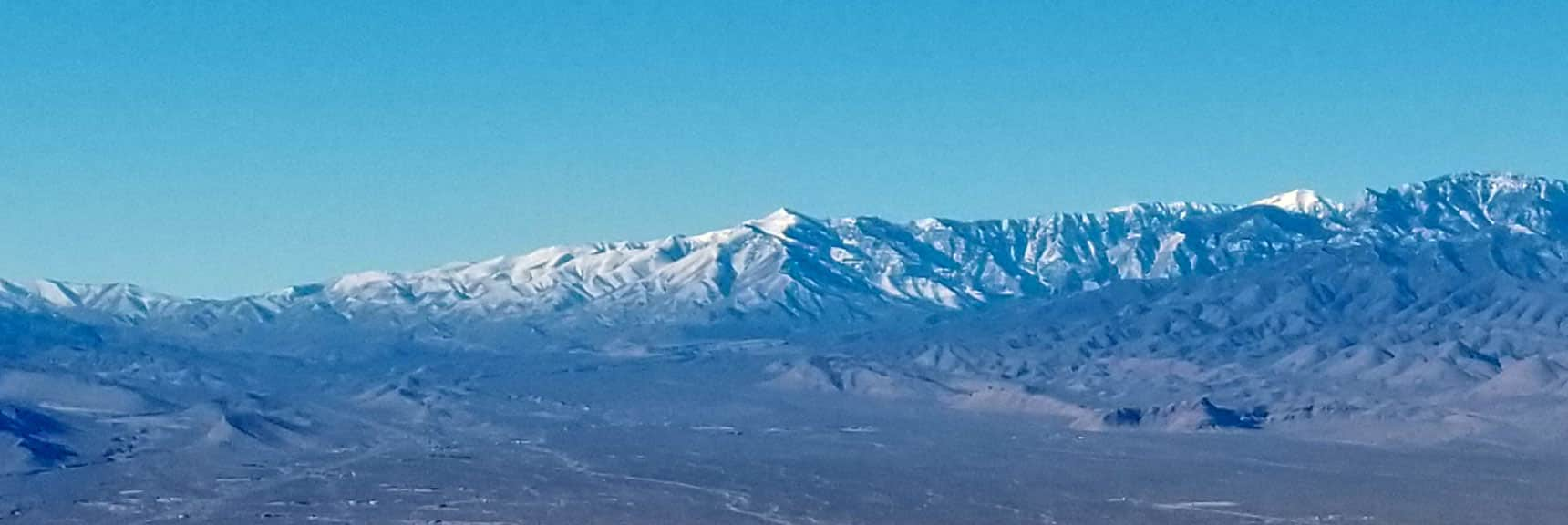 Griffith Peak Viewed from Gass Peak West Summit