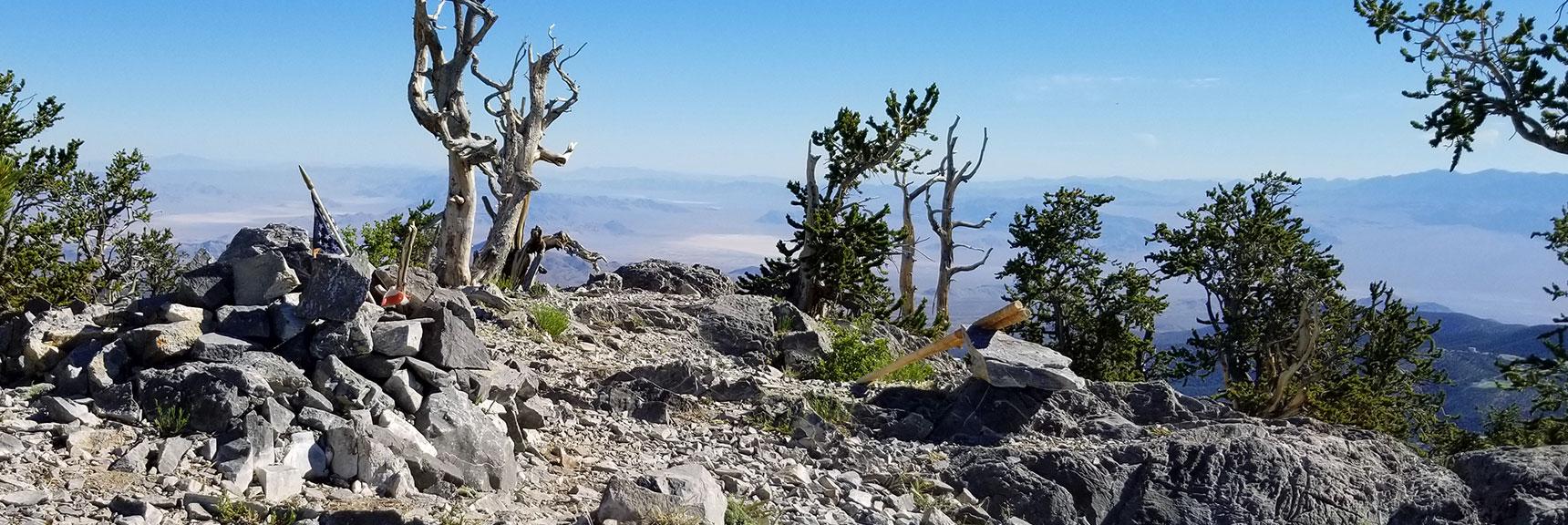 Fletcher Peak Summit Looking North