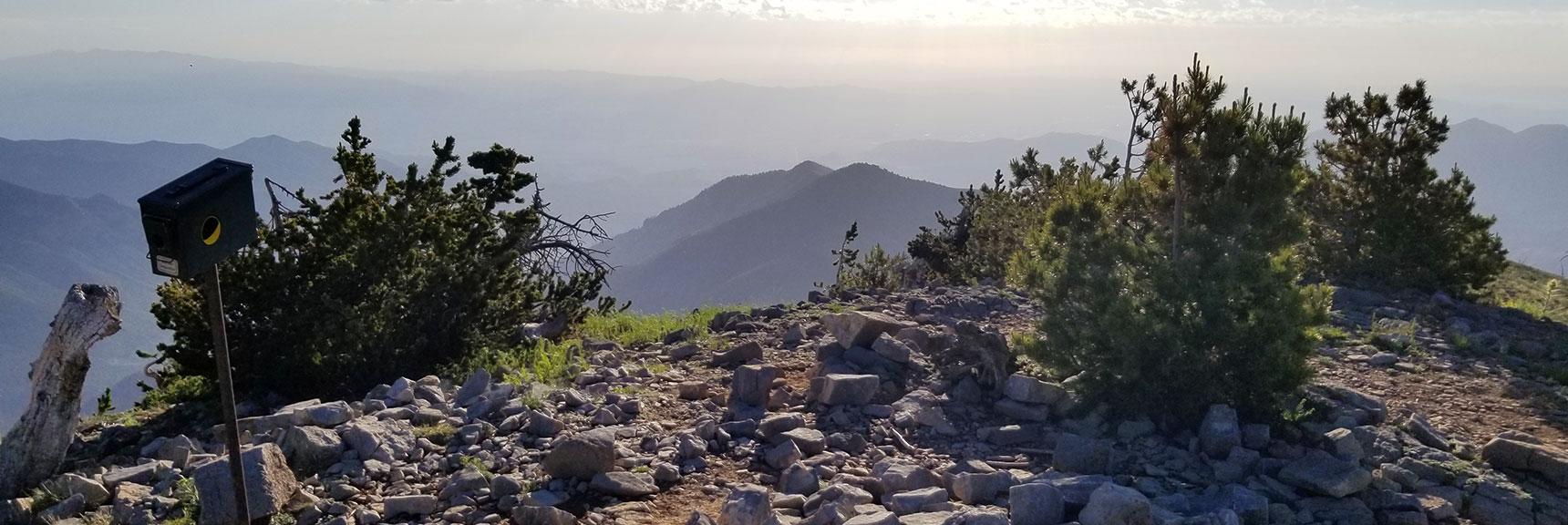 Harris Mountain from Griffith Peak Summit