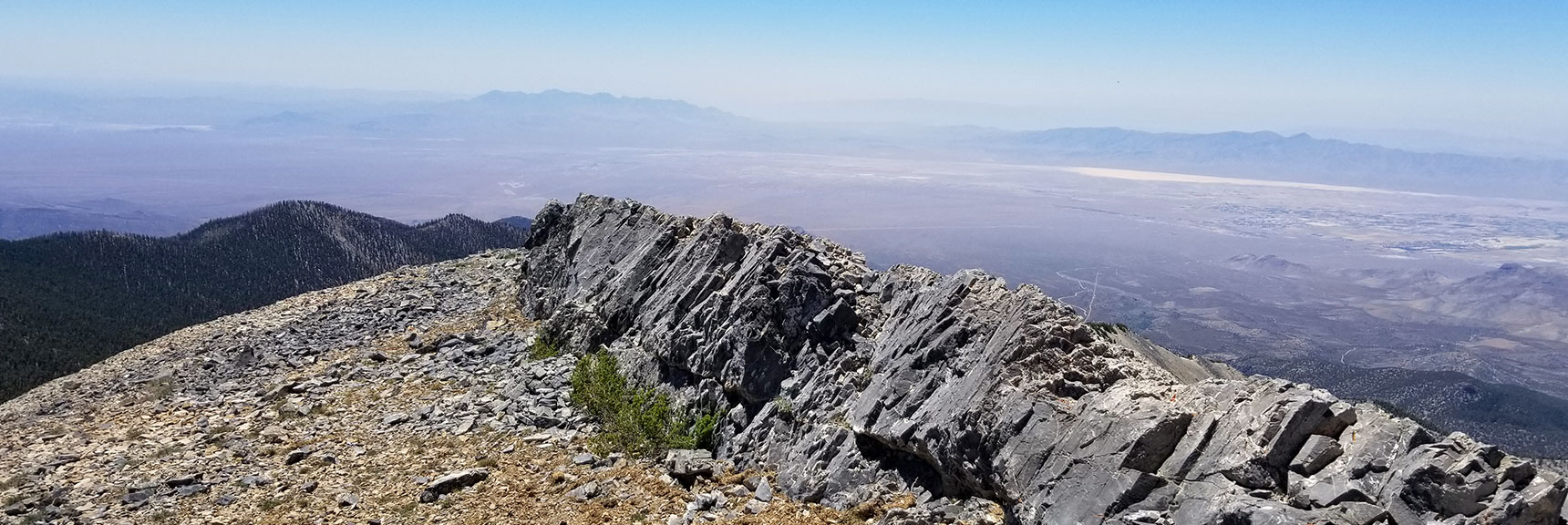 Southern View from Kyle Canyon Summit