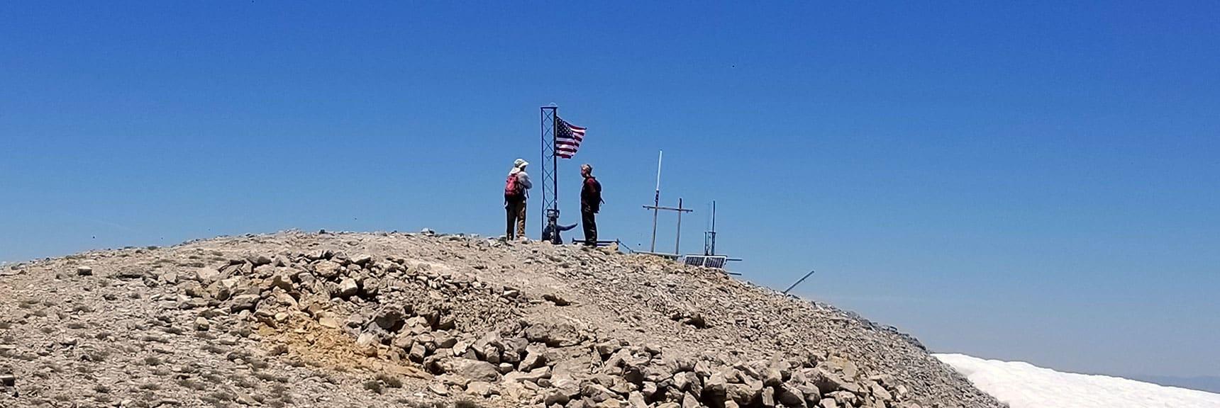 Charleston Peak Summit