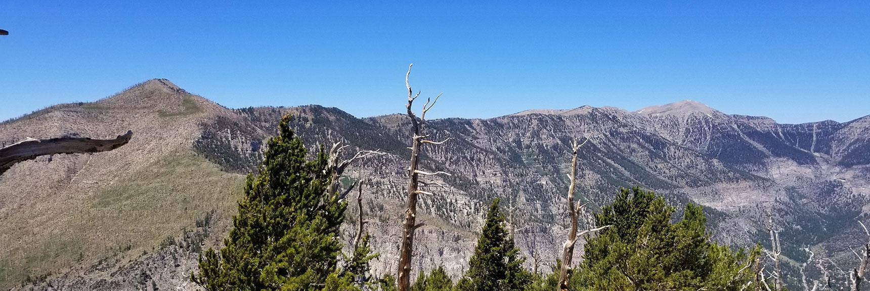 Griffith Peak to Charleston Peak Viewed from Harris Mountain, Nevada