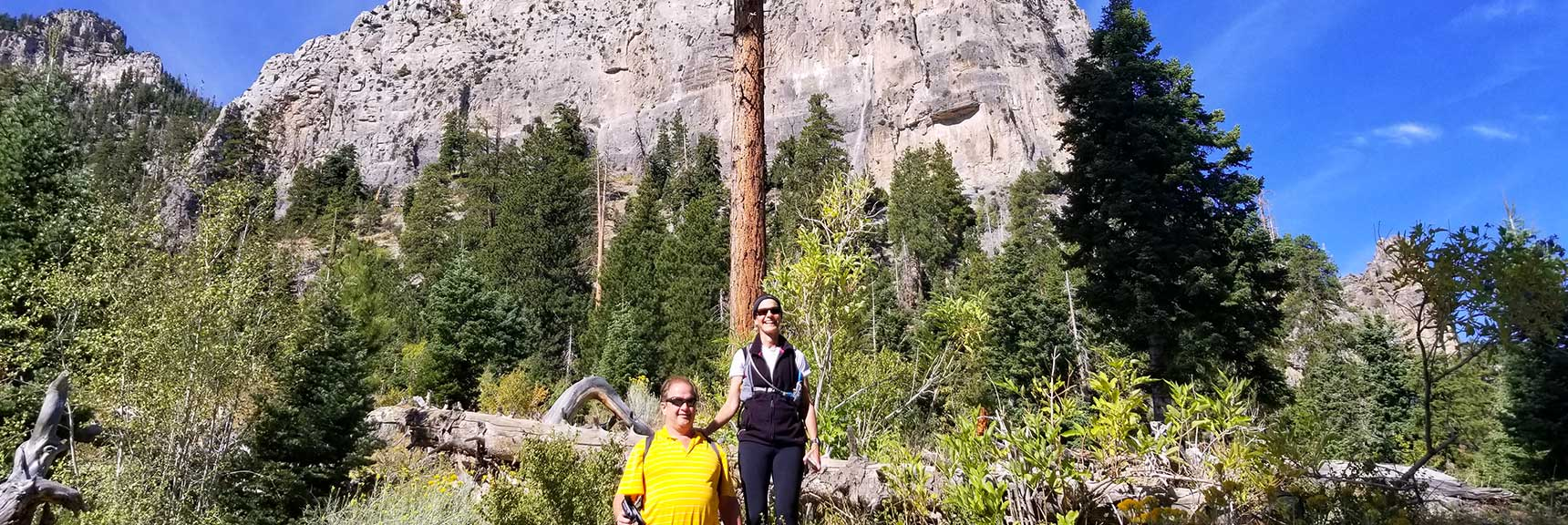 First View of Cathedral Rock in Mt Charleston Wilderness, Nevada