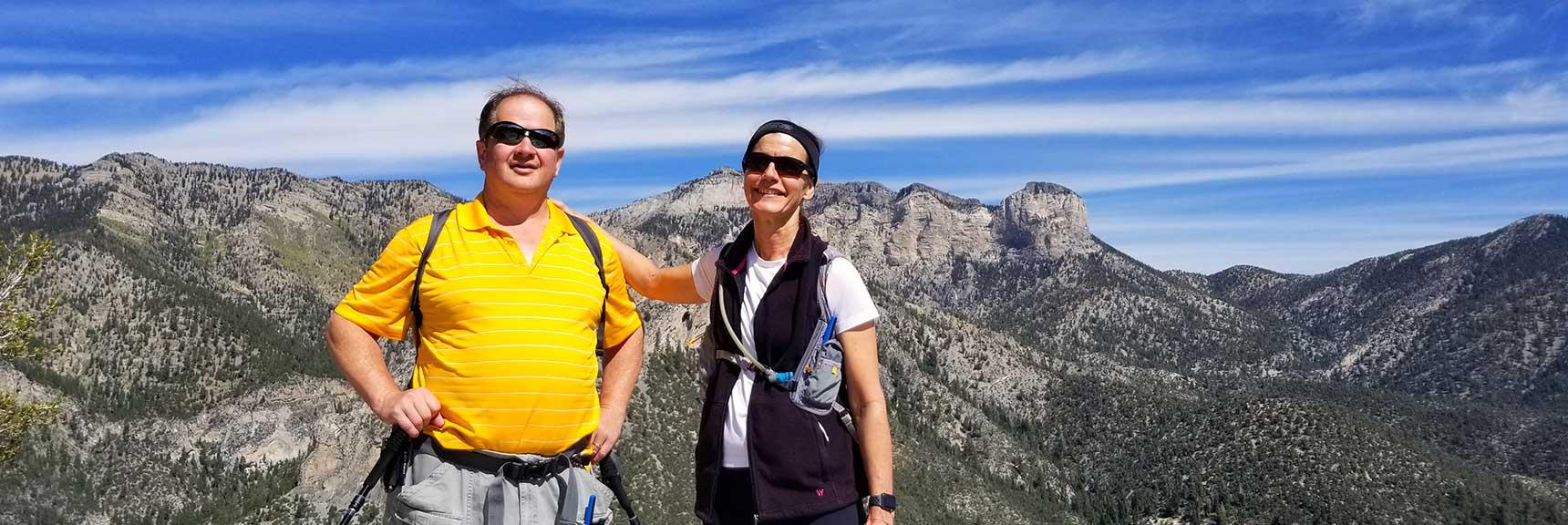 Cathedral Rock Summit Achieved in Mt. Charleston Wilderness, Nevada