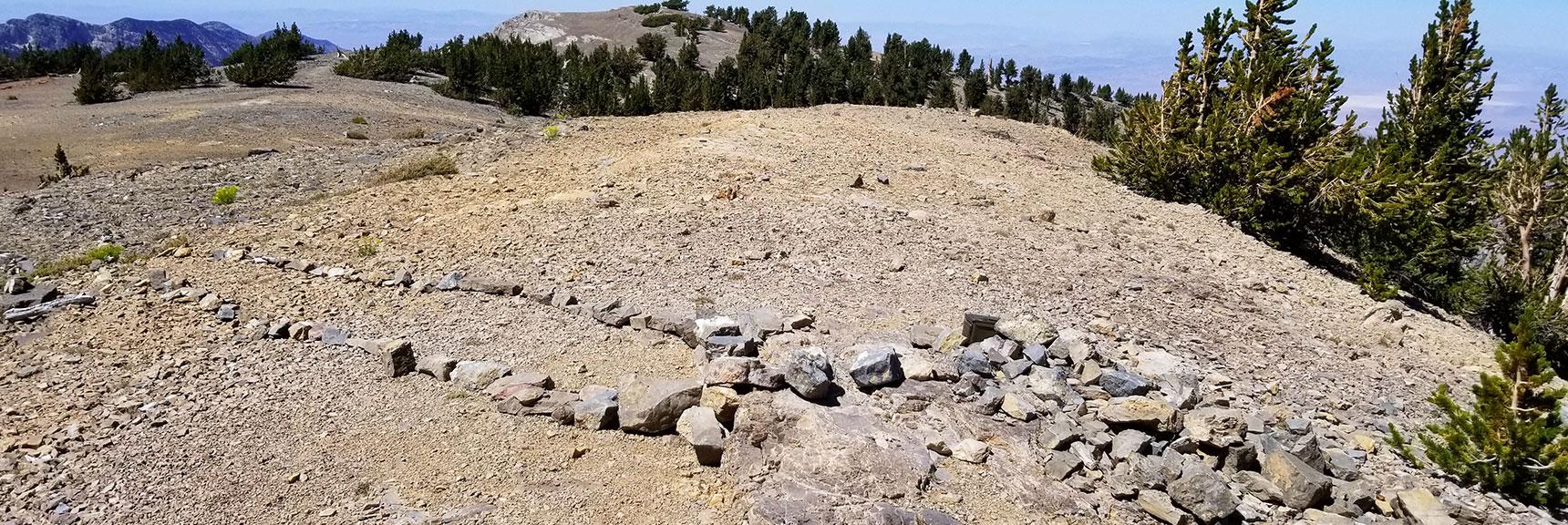 Summit of Mummy Mountain, Nevada