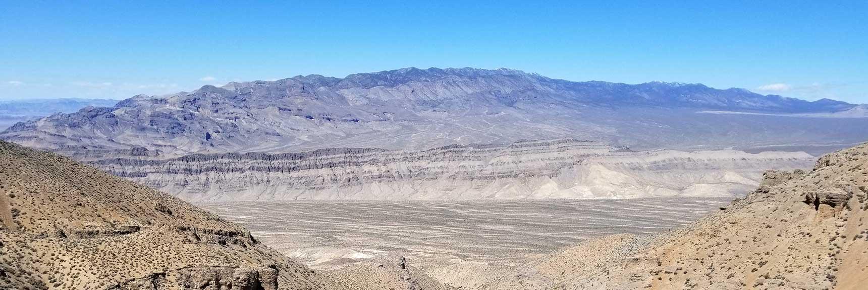 Sheep Range Viewed from Gass Peak, Nevada