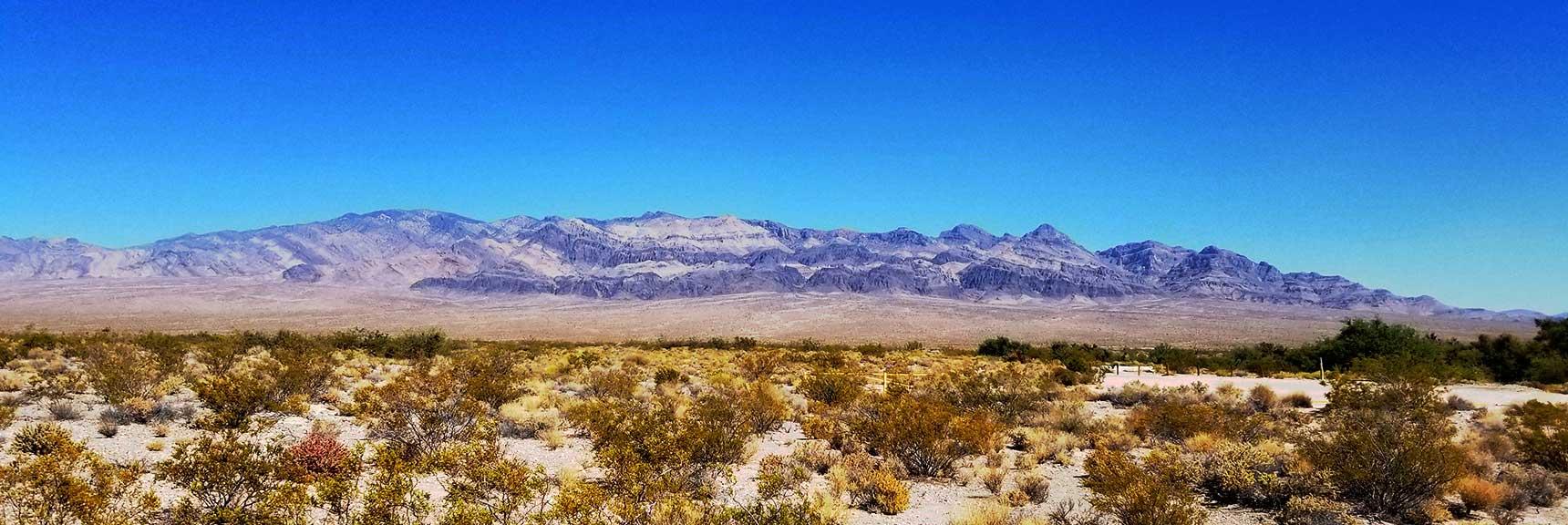 Sheep Range Viewed from I-95, Nevada