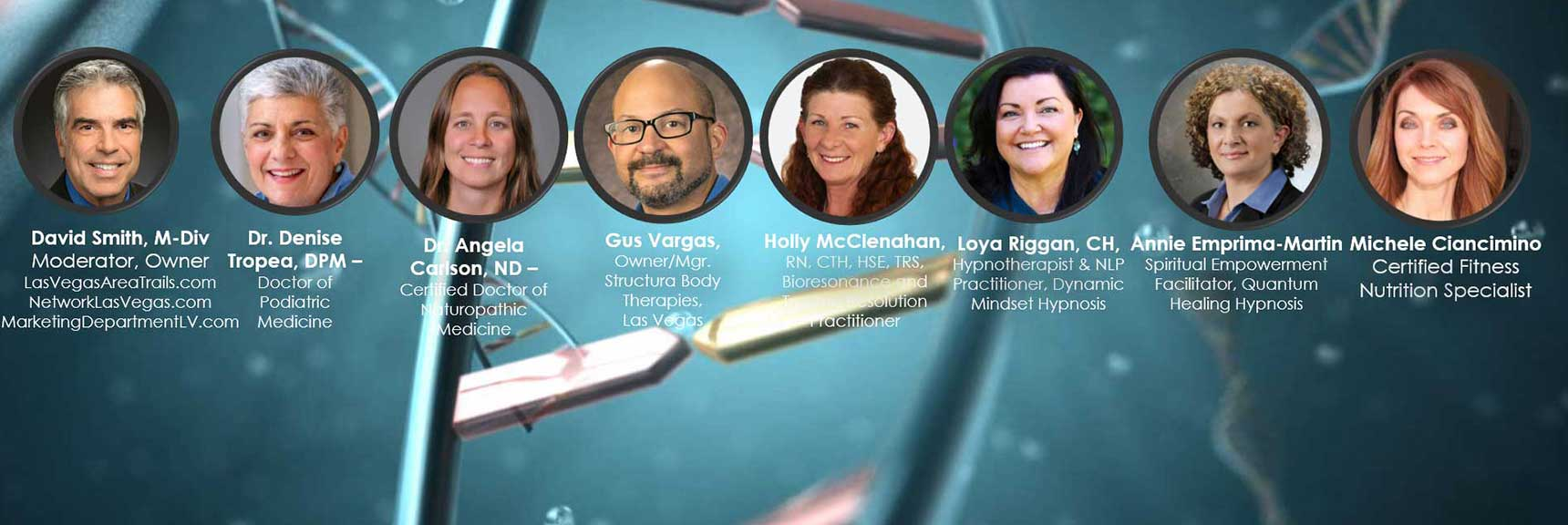 Achieving Your Optimal Health Webinar Series with Top Las Vegas Health Professionals