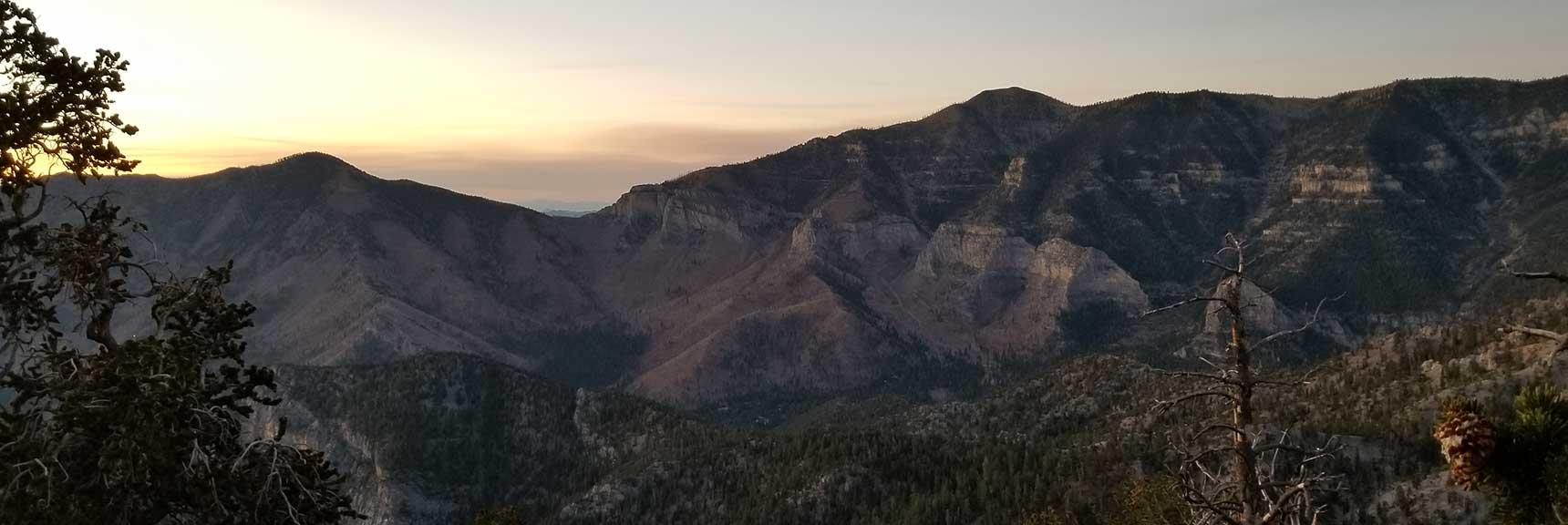 Griffith Peak to Harris Mountain Circuit, Six Peak Circuit Adventure Strategy, Spring Mountains, Nevada
