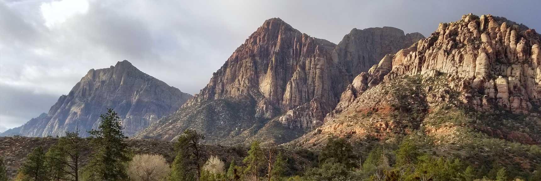 Mt. Wilson, Rainbow Mountain and Juniper Peak, Rock National Park, Nevada
