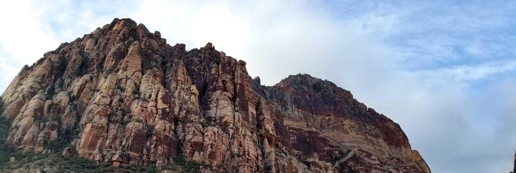 Juniper Peak from Pine Creek Canyon, Red Rock National Park, Nevada