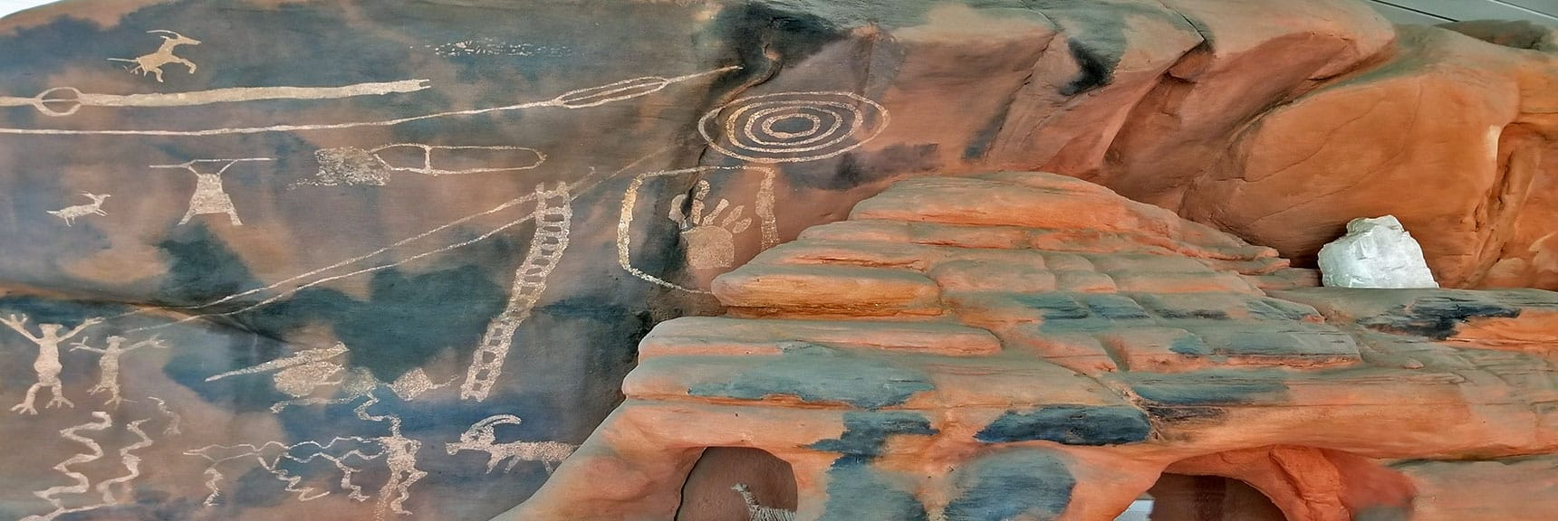 Petroglyphs in Valley of Fire State Park, Nevada