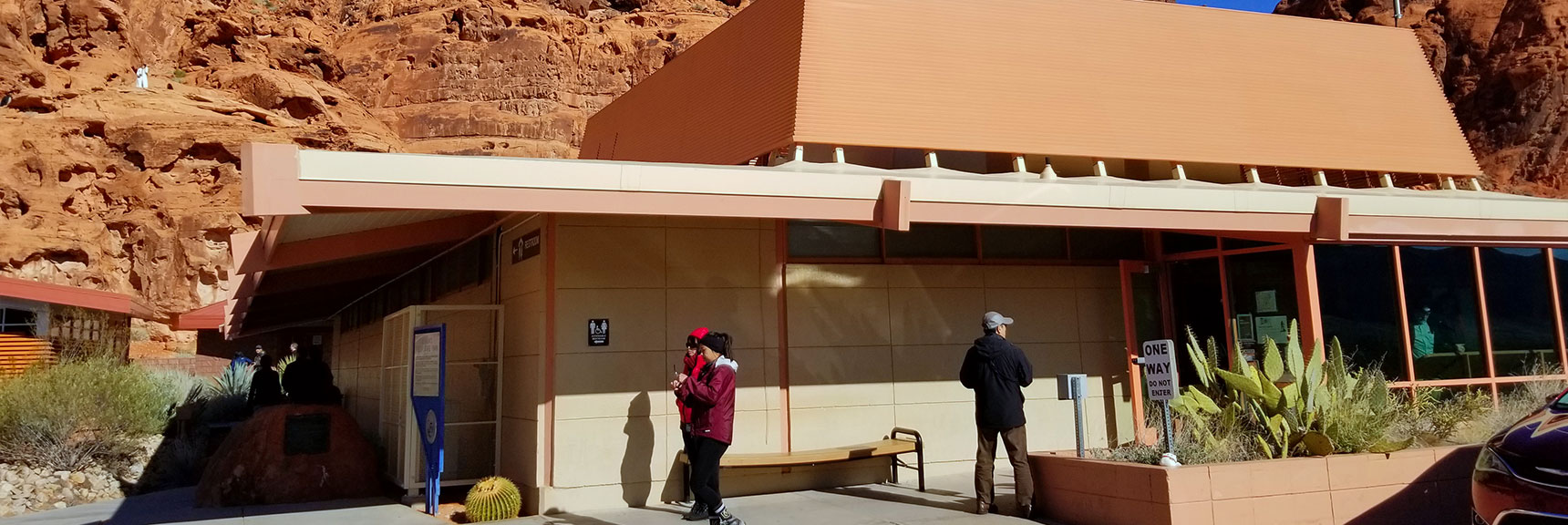 Visitors Center at Valley of Fire State Park, Nevada