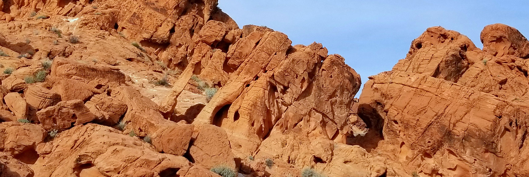 Elephant Rock Loop in Valley of Fire State Park, Nevada