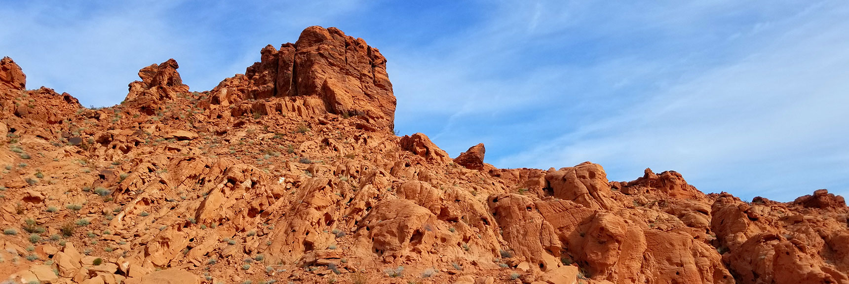 Mountains Behind (North of) Elephant Rock Loop in Valley of Fire State Park, Nevada