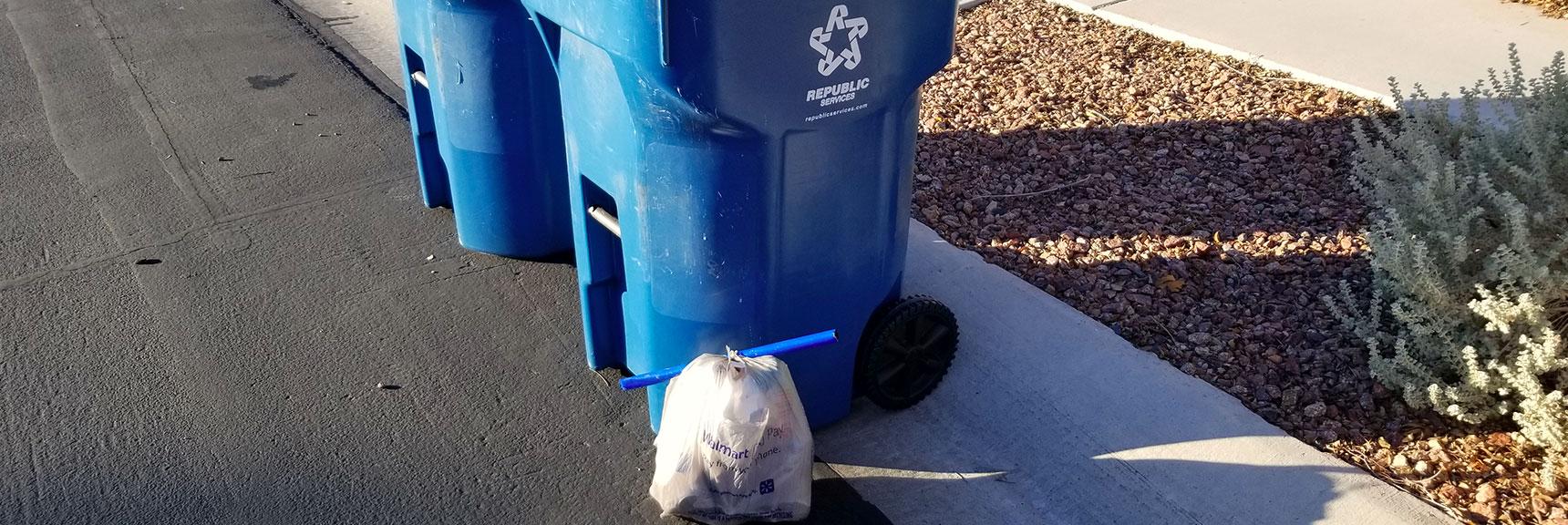 Environmental Consciousness in Las Vegas, Nevada, Slide 001