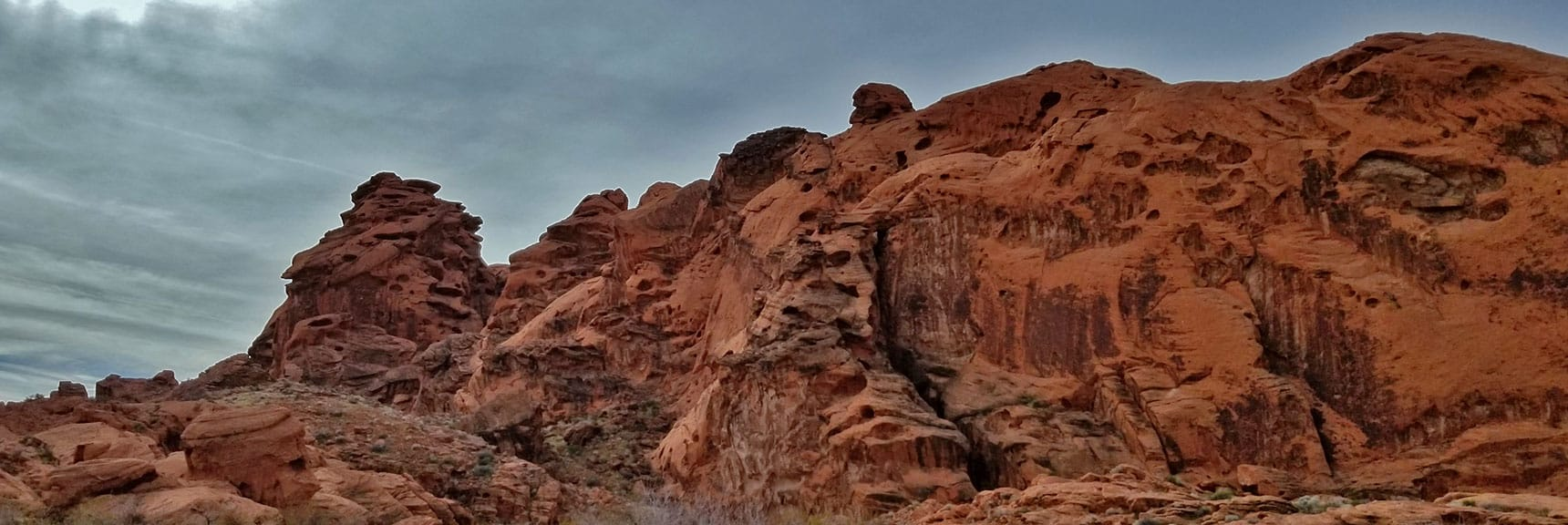 Fire Canyon in Valley of Fire State Park, Nevada