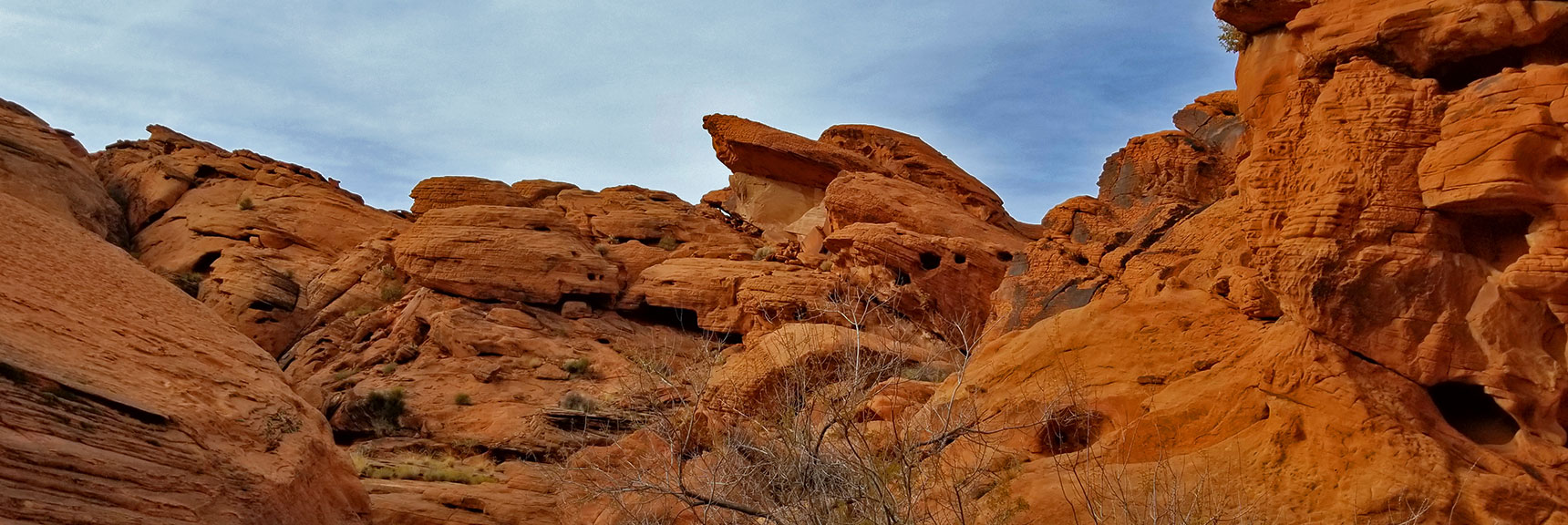 More Fascinating Rock Formations in Fire Canyon in Valley of Fire State Park, Nevada