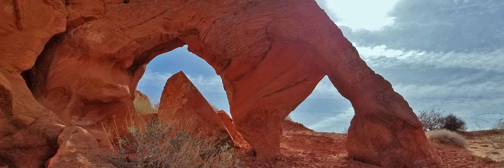 Old Arrowhead Trail in Valley of Fire State Park, Nevada
