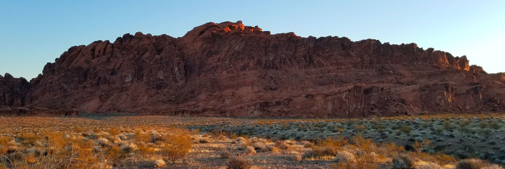 Red Hills to the Northeast of Prospect Trail in Valley of Fire State Park, Nevada