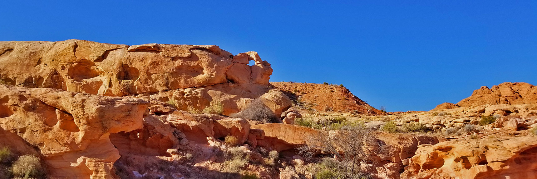 Beautiful Rock Formations on Prospect Trail Near White Domes Loop in Valley of Fire State Park, Nevada