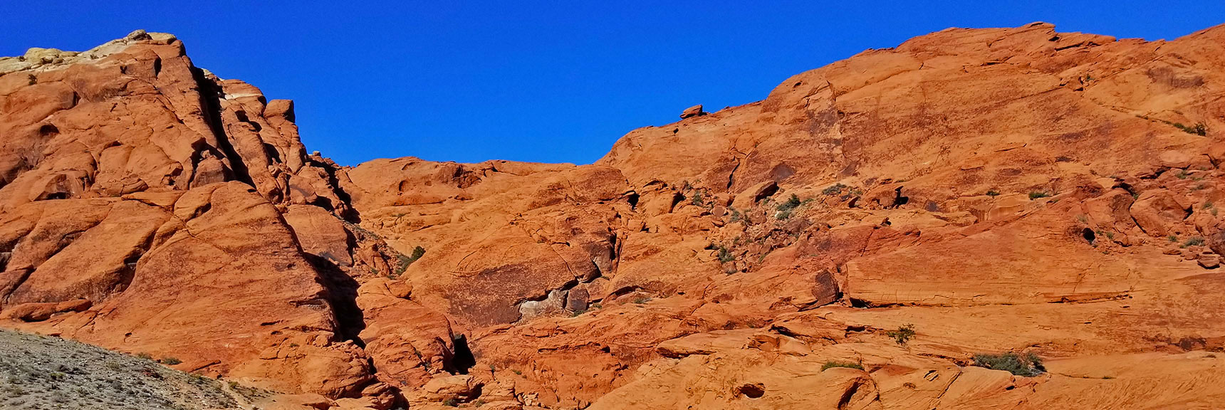 Red Rock National Park View of Calico Hills from 2nd Scenic Drive Turnout