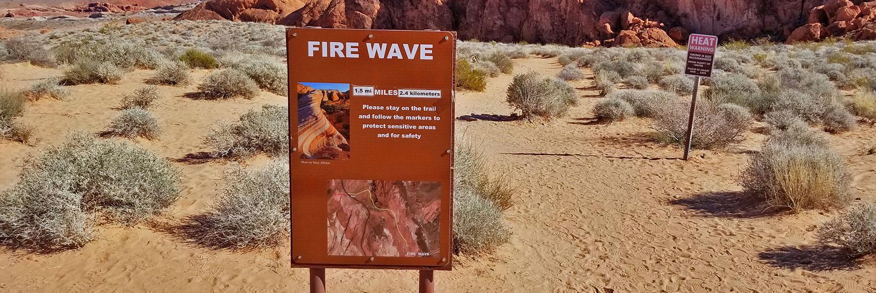 Firewave in Valley of Fire State Park, Nevada, Slide 001